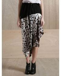 Preen By Thornton Bregazzi Womens Serpant Skirt - Lyst