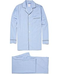 Brooks Brothers - Plaid Cotton Pyjamas - Lyst