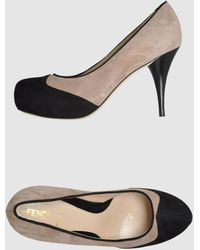Fendi Platform Pumps - Lyst