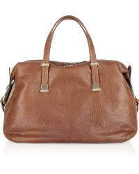 Valentino - Chain Mail and Leather Bowling Bag - Lyst