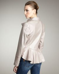 Royal Underground - Pearlized Faux-leather Jacket - Lyst