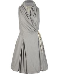 AllSaints Ticking Aditya Dress - Lyst