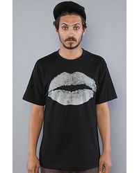 Black Scale The Kiss Of Death Tee in Black - Lyst