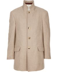Brunello Cucinelli Single Breasted Jacket - Lyst