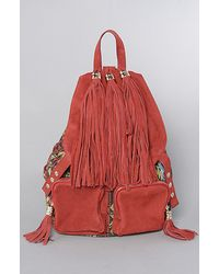 Jeffrey Campbell - The Rizzler Bag in Red Navajo Print - Lyst