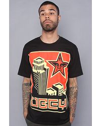 Obey The Skyline Basic Tee in Black - Lyst