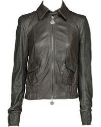 Patrizia Pepe Leather Jacket - Lyst