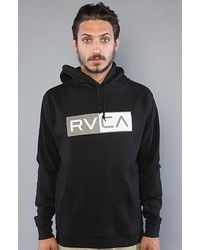 RVCA The Rvca Division Hoody in Black - Lyst