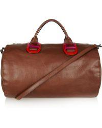 3aab6b3f5c Meredith Wendell - Leather Duffel Bag - Lyst