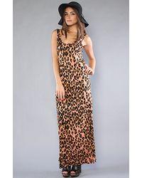 MINKPINK The Jungle Fever Maxi Dress - Lyst