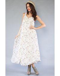 MINKPINK The Girlfriend Maxi Dress - Lyst