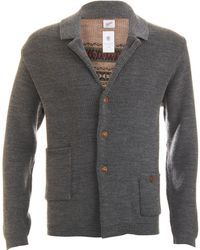 Garbstore Fairisle Back Cardigan - Lyst