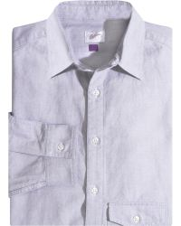 Garbstore Point Collar Sport Shirt - Lyst