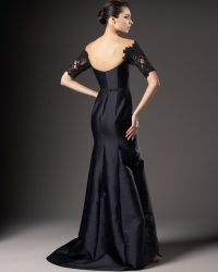 Redux Charles Chang-lima - Lace-sleeve Gown - Lyst
