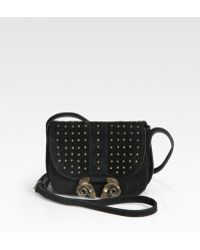 Derek Lam Studded Suede Small Ume Bag - Lyst