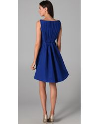 Katie Ermilio | Flare Back Cocktail Dress | Lyst