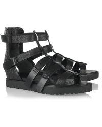 Alexander Wang Saskia Leather Gladiator Sandals - Lyst