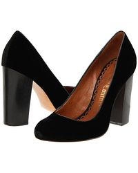 Juicy Couture Rosa - Black Velvet Pump - Lyst