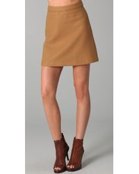 Lover Troupe Skirt brown - Lyst
