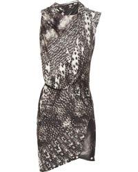 Aminaka Wilmont - Twist Silk Dress - Lyst
