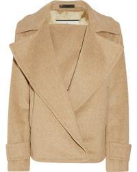 By Malene Birger Fidelina Wool-blend Coat - Lyst