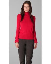 L.A.M.B. Turtleneck Sweater - Lyst