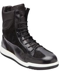 Alexander McQueen Feist High Top Sneaker black - Lyst
