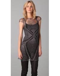 Jen Kao - Lace Wing Cross Dress - Lyst