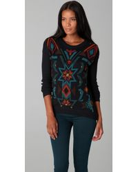 L.A.M.B. - Long Sleeve Jumper with Beading - Lyst