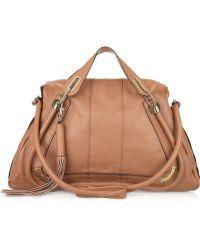 Chloé Paraty Medium Tasseled Leather Bag - Lyst