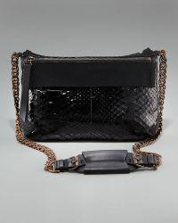 Lanvin Python Shoulder Bag - Lyst