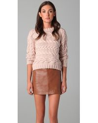 Jenni Kayne Cable Sweater - Lyst