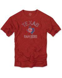 Banner 47 Texas Rangers Regular Fit Crewneck T-shirt (men) - Lyst