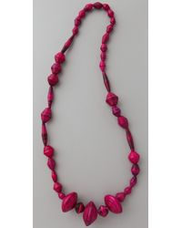 Bluma Project - Ola Paper Bead Necklace - Lyst