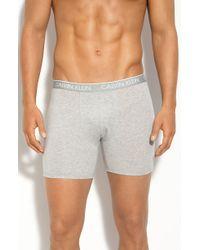 Calvin Klein Ck One - Stretch Cotton Boxer Briefs - Lyst