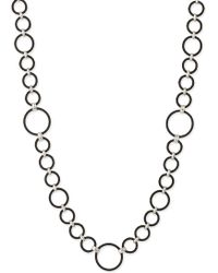 Charriol | Celtique Noir Cable Ring Long Necklace | Lyst