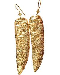 Chic Jewel Couture Golden Age Earrings - Lyst