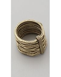 Club Monaco - Stacked Rings - Lyst