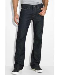 Diesel Viker Straight Leg Jeans (88z Wash) - Lyst