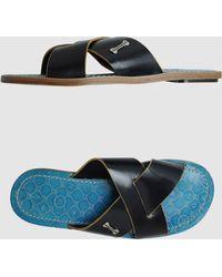 Frankie Morello Sandals - Lyst