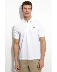 Fred Perry Short Sleeve Polo Shirt - Lyst
