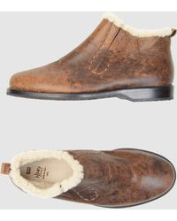 Henry Cuir - Shoe Boots - Lyst
