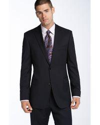 Hugo Boss Boss Black Pasolini Navy Wool Suit - Lyst