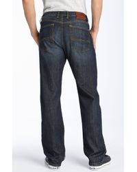 Lucky Brand Classic Straight Leg Jeans (ol Lipservice Wash) - Lyst