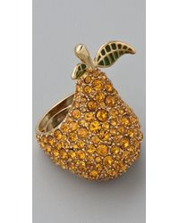 Marc By Marc Jacobs - 10th Anniversary Pear Ring - Lyst