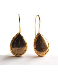 Toosis Fools Gold Drop Earrings - Lyst