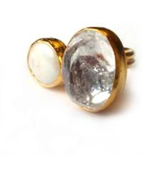 Toosis .the Delicate Balances Clear White Quartz and Pear - Lyst