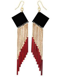 Zelia Horsley Jewellery Redangle Earrings - Lyst