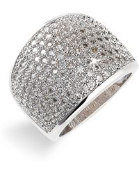 Ariella Collection Pave Ring - Lyst