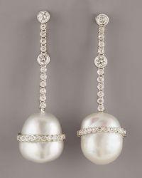 Assael - Baroque Diamond Earrings - Lyst